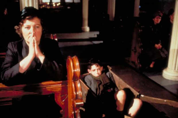 My Left Foot: Brenda Fricker and Hugh O'Conor, as young Christy Brown