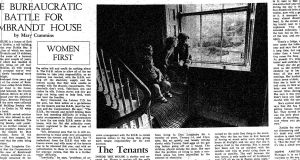 Mary Cummins article on Rembrandt House, a house of 13 flats in Monkstown, Co Dublin, which was home to 20 adults and 19 children in 1970.