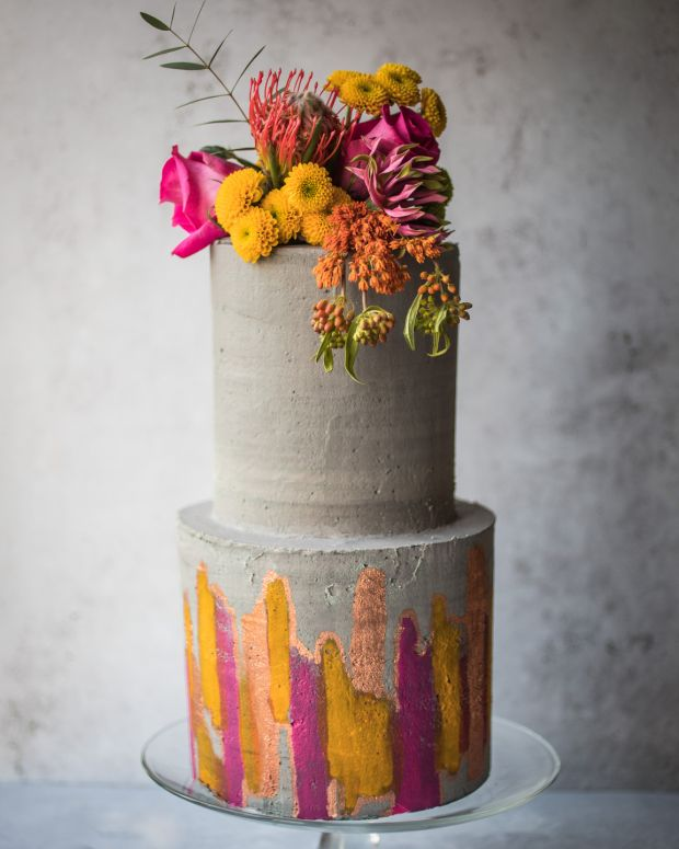 Celebration cake made by Jenny Gleeson of Sweetie Pie. Photograph: Clare Wilkinson