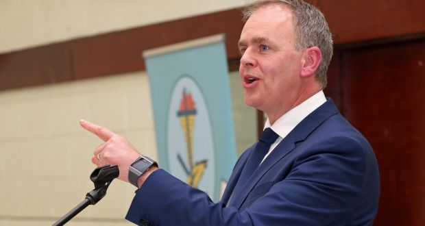 Minister for Education Joe McHugh hits out at claims students would be stopped from celebrating Christmas and Easter. Photograph: Jim Coughlan