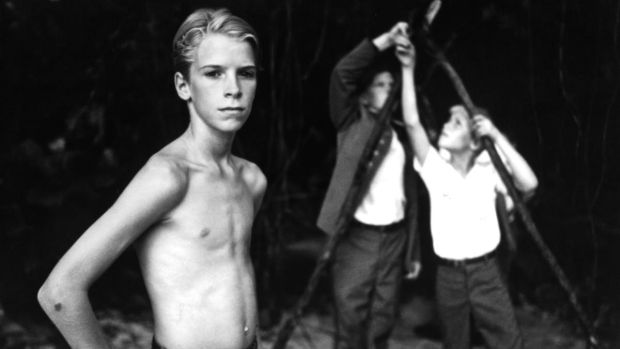 Chris Furrh in a scene from the film Lord of the Flies, 1990. Photograph: United Artists/Getty Images