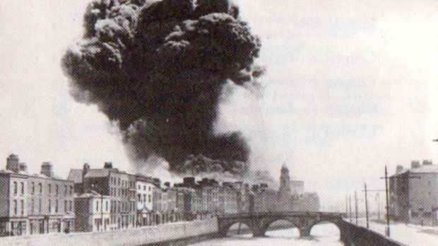 The Four Courts explosion in June 1922