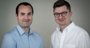 Brightflag founders Alex Kelly and Ian Nolan