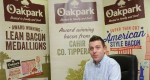 David Brett, general manager, Oakpark Foods, in Cahir, Co Tipperary. Photograph: Donal O'Leary