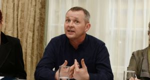 Richard Boyd Barrett said 'there is a notion abroad that the film industry is exceptional and that the normal rules do not apply to it'. Photograph: Alan Betson / The Irish Times