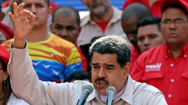Venezuela's president Nicolas Maduro has been accuse of wrecking the country's economy. Photograph: Reuters