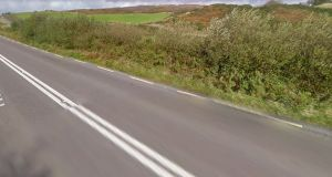 The N71 road near Skibbereen. Photograph: Google Street View