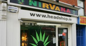 In 2010, young people in Ireland were the biggest users of head shop drugs in Europe, with 7 per cent admitting to using the substances within the last year. Photograph: Bryan O'Brien
