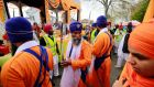 More than 2,000 people attended the Nagar Kirtan Procession around Sandymount in Dublin. Photograph: Nick Bradshaw