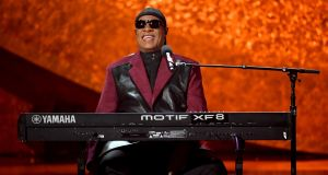 Stevie Wonder performs at the Microsoft Theatre on September 25th, 2018 in Los Angeles, California. Photograph: Kevin Winter/Getty Images