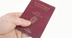 Applications for Irish passports have risen to record levels, with almost 250,000 requests since January, a 30 per cent increase from the same period last year, according to the Department of Foreign Affairs. Photograph: Getty Images