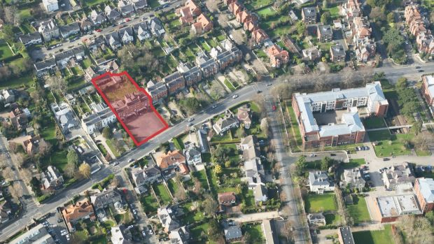 Site with 0.66 acres on Dartry Road