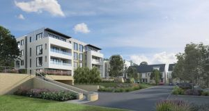 An illustration of what the Killiney development will look like on completion