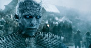 The Night King makes his assault on the Wall in HBO's Game of Thrones, which returns to Sky and Now TV next week for its final season.