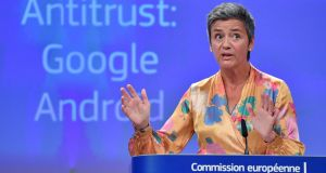 European competition commissioner Margrethe Vestager's intervention shows the way the wind is blowing.  Photograph: Getty Images
