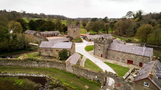 Game of Thrones: the Castle Ward farmyard was used for Winterfell scenes. Photograph: Robert Ormerod/NYT