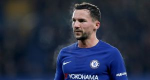 Chelsea midfielder Danny Drinkwater has been charged with drink-driving after a car crash. Photograph: Adam Davy/PA