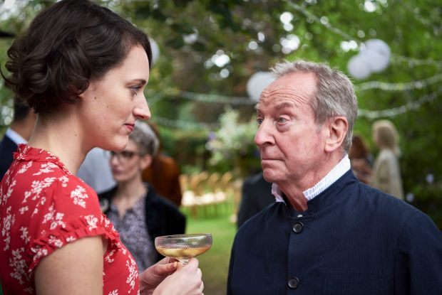 Fleabag: Phoebe Waller-Bridge and Bill Paterson in the final episode. Photograph: Kevin Baker/Two Brothers/BBC