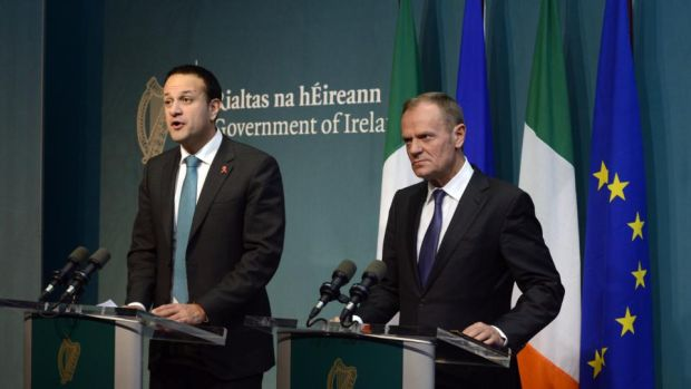 """If the UK Brexit offer is unacceptable to Ireland it will be unacceptable to Europe."""