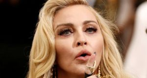 Madonna: she will reach more than 180 million viewers when she takes to the stage in Tel Aviv on May 18th. Photograph: Lucas Jackson/Reuters