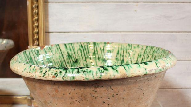 Selection of 19th century Italian passata bowls prices, €200 -€250, Straffan Antiques, Kildare.