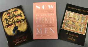 Insistence by Ailbhe Darcy, Now We Can Talk Openly About Men by Martina Evans and A Quarter of an Hour by Leanne O'Sullivan are the three shortlisted titles