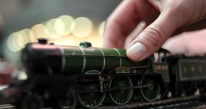 Hornby train: firm has been through a choppy period and has been forced to issue profit warnings.
