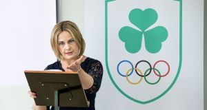 Olympic Federation of Ireland president Sarah Keane expects something in the region of €2m to flow into the OFI over the next two years from IOC funds. Photograph: Morgan Treacy/Inpho