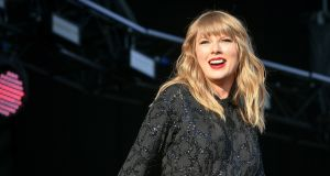 "Taylor Swift: ""I'm so inspired by the work you do."" Photograph: Ben Birchall/PA"