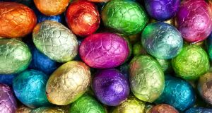 Though painted eggs were given as gifts, the tradition of chocolate Easter eggs didn't emerge until the early 19th century