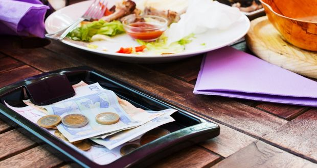 We like to think we have become super-cosmopolitan, but we remain clueless when it comes to leaving a few bob behind at restaurants. Photograph: iStock