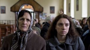 Fiona Shaw and Fionnuala Flaherty in 'Out of Innocence'