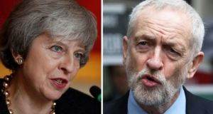 Conservative and Labour party discipline is so weak there is no guarantee that the withdrawal bill would pass even if Theresa May and Jeremy Corbyn whipped in favour of it. Photograph: PA Wire