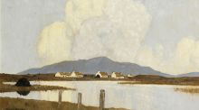 Lot 52, Paul Henry's  Evening in Achill (€150,000–€250,000) at Morgan O'Driscoll's sale.