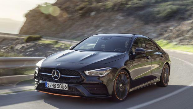 Mercedes Benz S New Cla Splits The Four Door Hairs