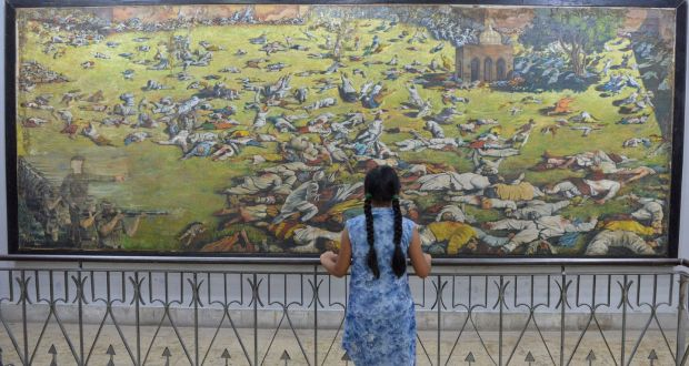 India's Amritsar massacre bore the 'made in Ireland' mark