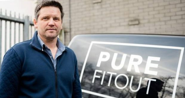 Ronan Higham, managing director of Pure Fitout, a Belfast-based firm