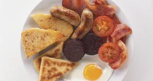 Ulster fry: a Northern Irish staple. Photograph: Getty