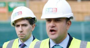 Minister for Health Simon Harris and Taoiseach Leo Varadkar: the children's hospital cost overrun comes at the expense of other health and social services which try to control their costs. Photograph: Rollingnews.ie