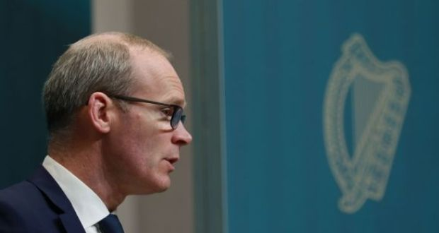 "Minister for Foreign Affairs Simon Coveney: ""The EU is born of a vision to end wars."" Photograph: Nick Bradshaw"