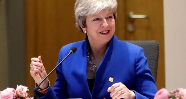 ef0b07e1bc UK prime minister Theresa May hopes parliament will approve her deal within  the next few weeks