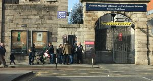 "Labour TD Joan Burton criticised the National Museum for being ""hopeless on the subject of women"". Photograph: Brenda Fitzsimons/The Irish Times"