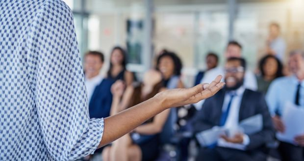 Speakers often decline the use of a microphone in meetings because they deem it unnecessary or don't want to hear their voices amplified.
