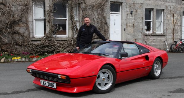 Electrifi S Norman Crowley With The Ferrari 308 Now Converted To Electric And Capable Of