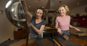 Sisters Karen and Natalie Keane of Bean and Goose chocölatiers