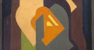 Detail from Composition (circa 1922) by Mainie Jellett