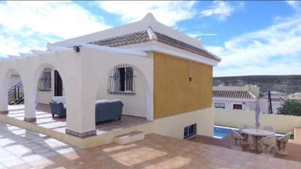 Spain: Four-bed villa near beaches in Murcia