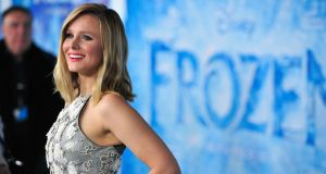 Actress Kristen Bell attends the premiere of Walt Disney Animation Studios' Frozen at the El Capitan Theatre.