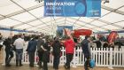 The Enterprise Ireland Innovation Arena at the National Ploughing Championships. Photograph: Colm Mahady/Fennells
