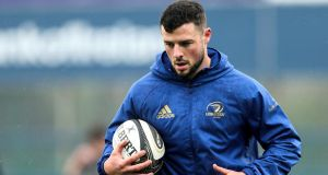 Robbie Henshaw returns for Leinster against Glasgow on Saturday. Photograph: Laszlo Geczo/Inpho